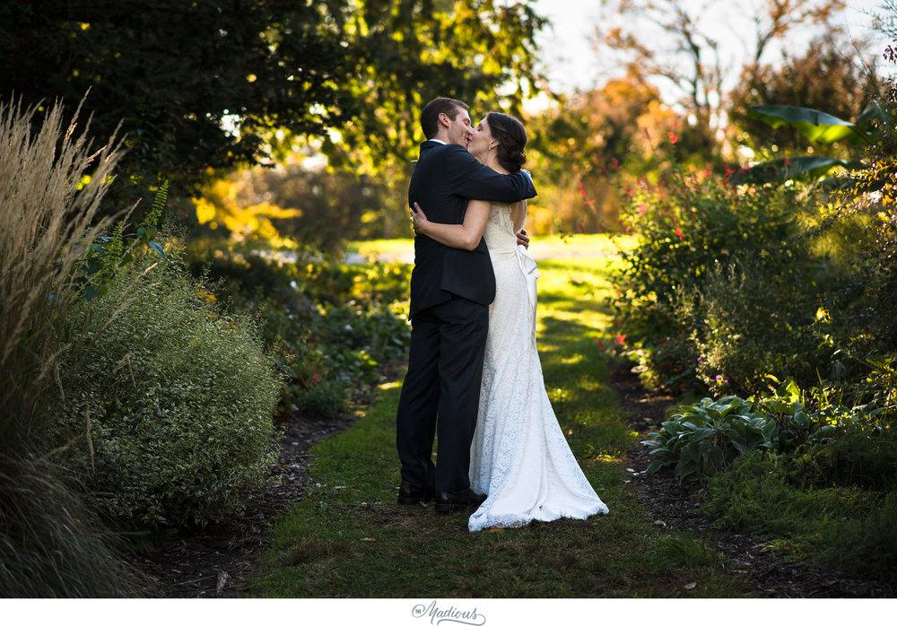 Cylburn Arboretum wedding photojournalism ceremony