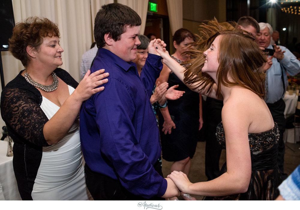 Cylburn Arboretum wedding vollmer center reception dancing