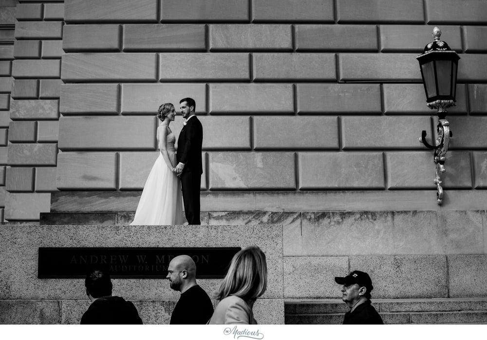 DC Reagan Building wedding