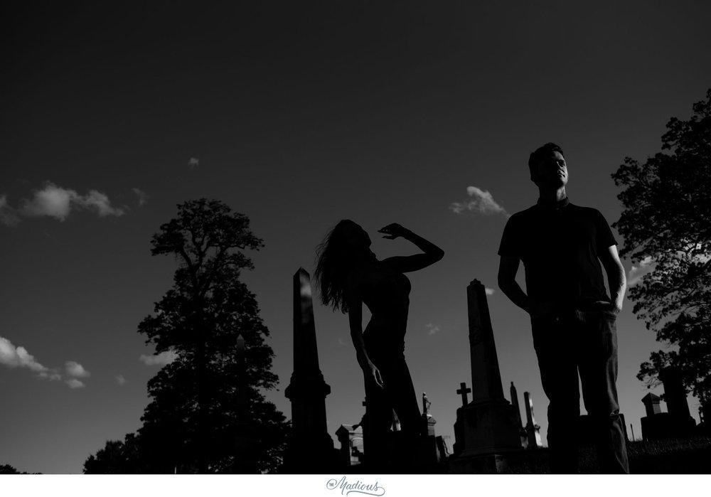 Cemetery engagement gothic photo_0007.JPG