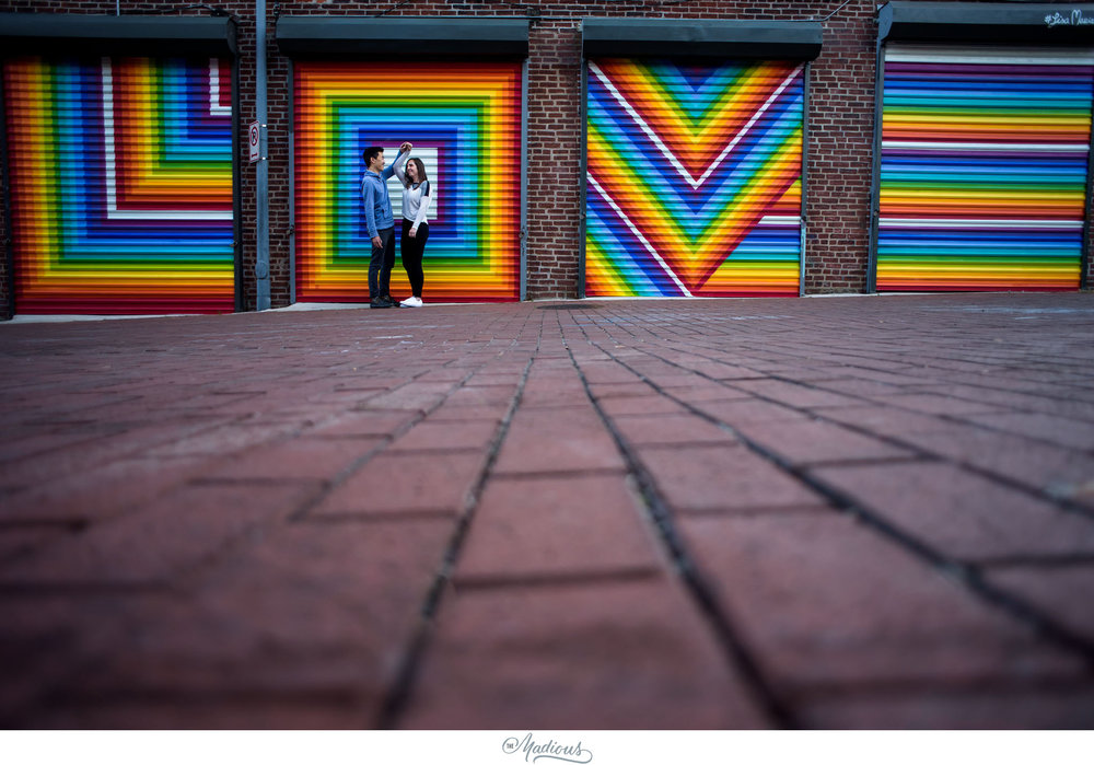DC engagement session, Dog, Blagden Alley, Kramerbooks 0011.JPG