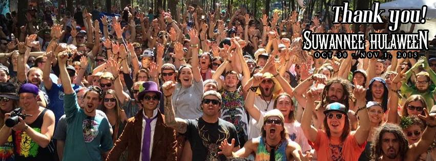 Our crowd at Suwannee Hulaween what a treat!
