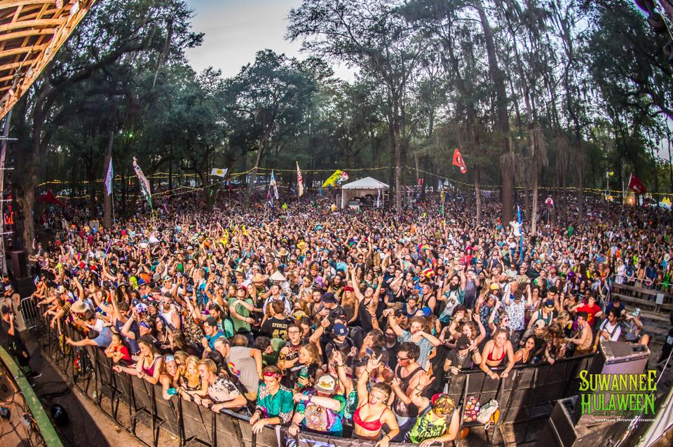 Amphitheater Stage at Spirit of the Suwannee Music Park!