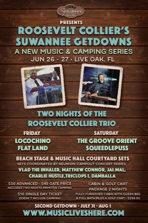 Roosevelt Colliers Suwannee Getdown!