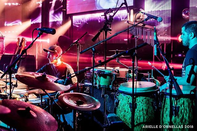@buckydrum and mister mondo Vanegas driving that Groove last week at our show in Fort Lauderdale at @thecultureroom openingfor @spaffordmusic #tgotour #spafford #florida #tour #drums #drummer 📸 by @arielledigsart