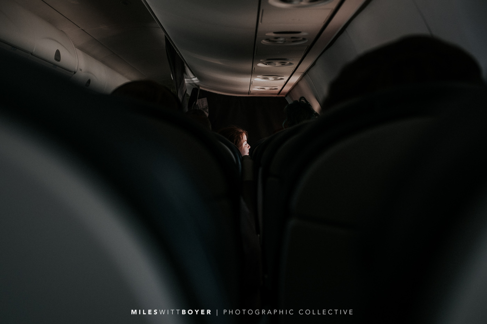 I am sure the people behind me on the plane thought I was such a creep when I took this shot...but look at the lighting.