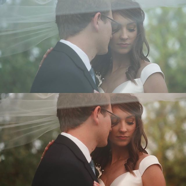 Some before and after frames from our sweet friend's wedding video! @4_ever_young95 and @jordan_elizabeth tied the knot in Jordan's parents backyard, and it was by far one of the most intimate weddings we've ever shot! Check out their video in our profile. • #framez #sony #photographiccollective #mwbfilms #foreveryoung #backyardwedding #contax #promist #voigtlander #colorgrade #videographer #arbride #destinationwedding #gameoftones