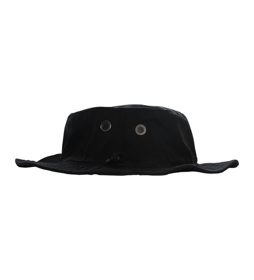73ee021ff13 WPT011 - Black Bucket Hat w  Yellow Embroidery — White Peach Records