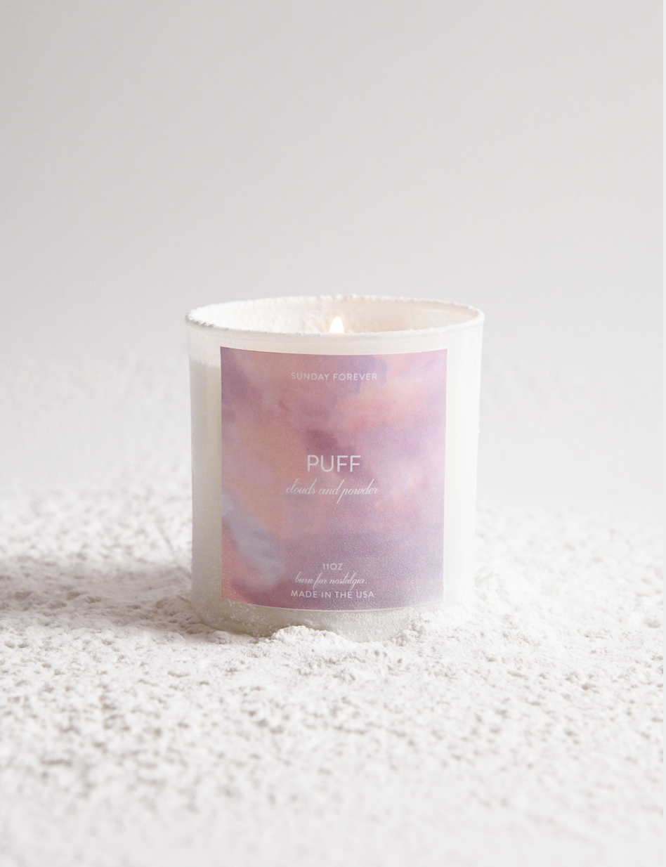 PUFF CANDLE