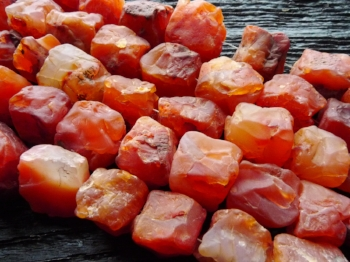 Pick up a piece of carnelian for your collection  here .
