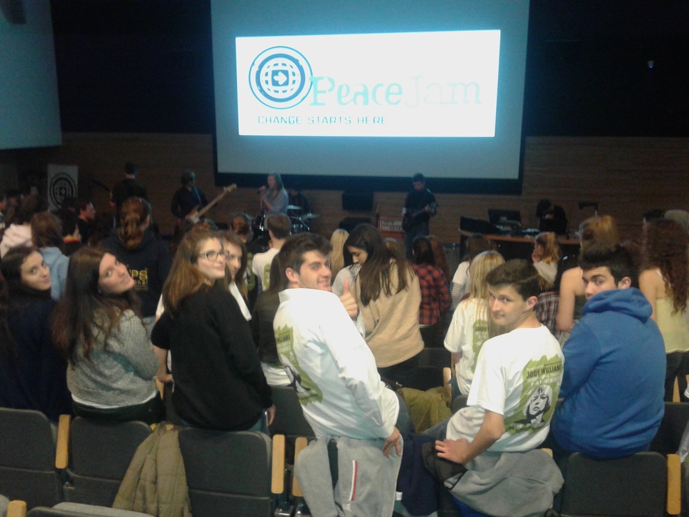 EIMAI WITH PLATON & PYRGOS SCHOOLS IN PEACE JAM CONFERENCE U.K. MARCH 2015.jpg