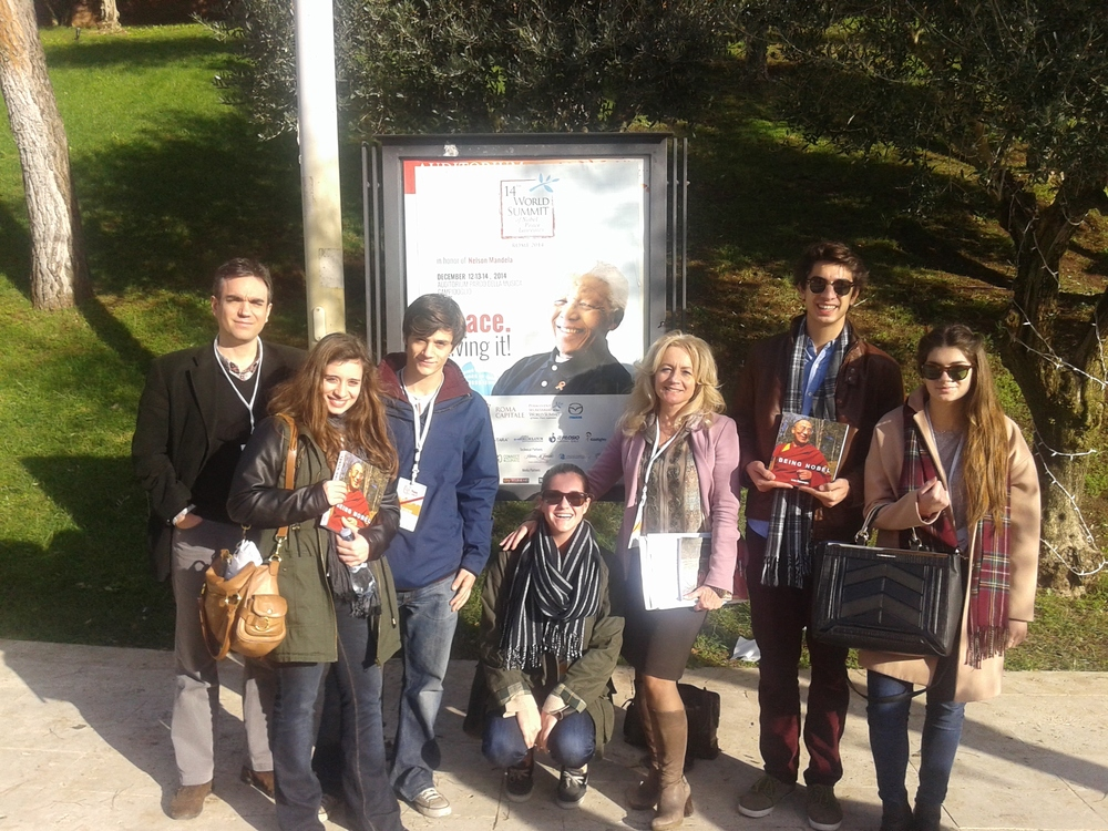 EIMAI STUDENTS AT THE WORLD SUMMIT OF NOBEL LAUREATES IN ROME DECEMBER 2014.jpg