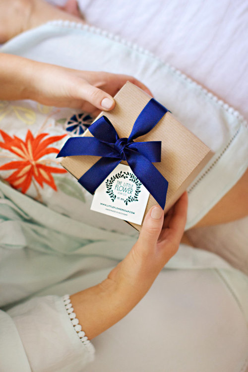 Bridesmaid Gift Personalized Spa Gift Box