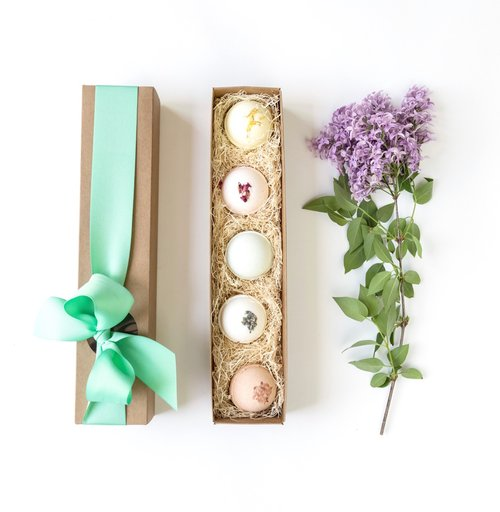 Bath Bomb Gift Set Of 5
