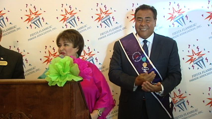 KSAT SAN ANTONIO - ABC News correspondent John Quinones has been chosen as the 2015 Fiesta Flambeau Parade's grand marshal.   More info...