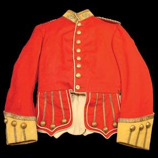 A British Highlander Coat from the Crimean War era (late 1800s).