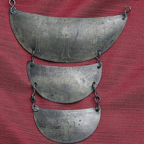 Trade Gorget for a Native American. Benjamin Day (1706-1757). Colonial American (Newport, Rhode Island), second quarter of the 18th Century.