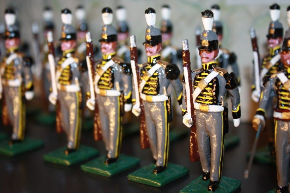 The Frazier's new Stewart Toy Soldier Gallery showcases more than 10,000 of the nostalgic collectibles.