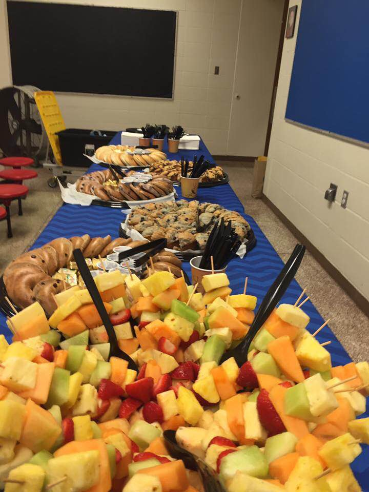 Catered lunches are also available for your group's visits.