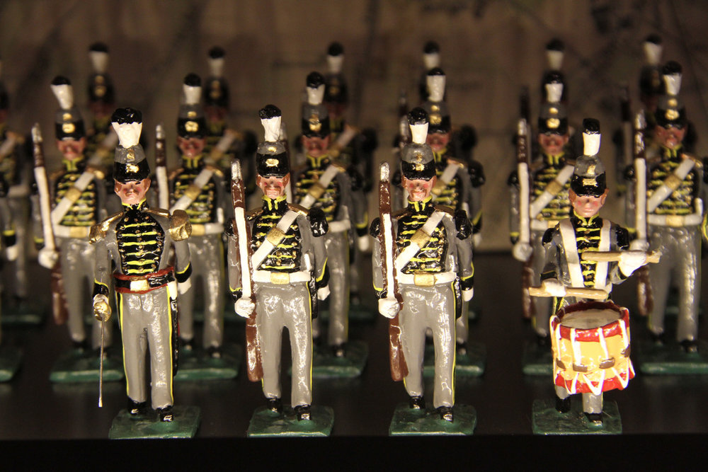 Detail of the Louisville Citizen's Guard Unit Made in 2011 by  Martin Ritchie Mfg.