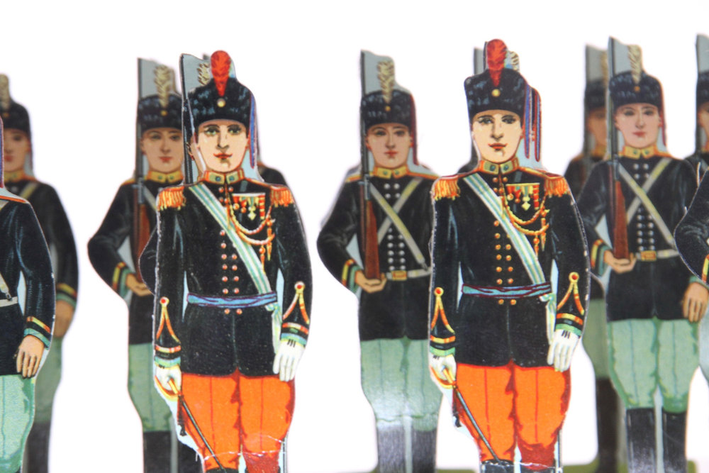 Milton Bradley, United States. Black Watch Set.