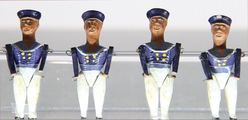Unknown maker, France, French sailors,  c. 1850-1860.