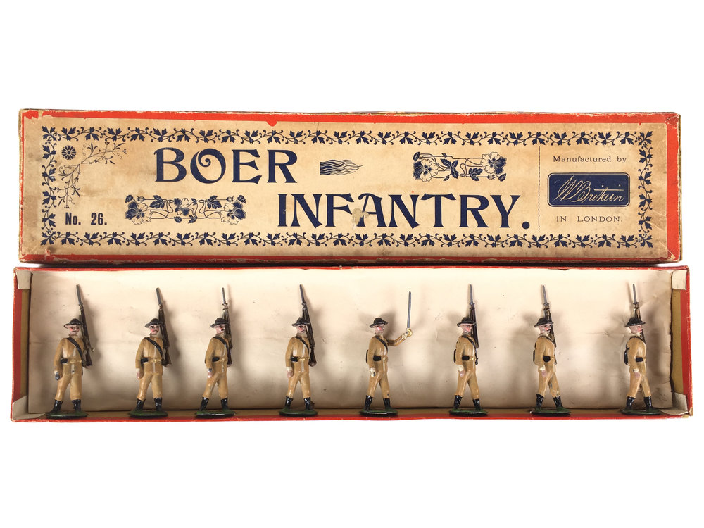 Boer Infantry, W Britain Set #26, 1908