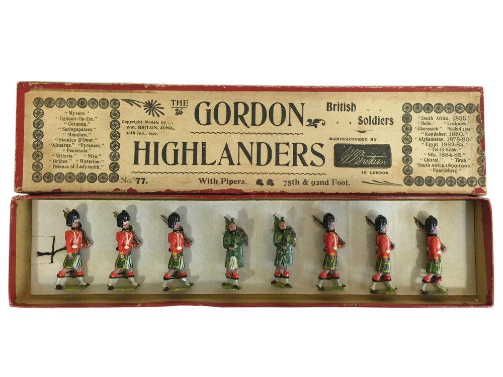 The Gordon Highlanders, W Britain Set #77