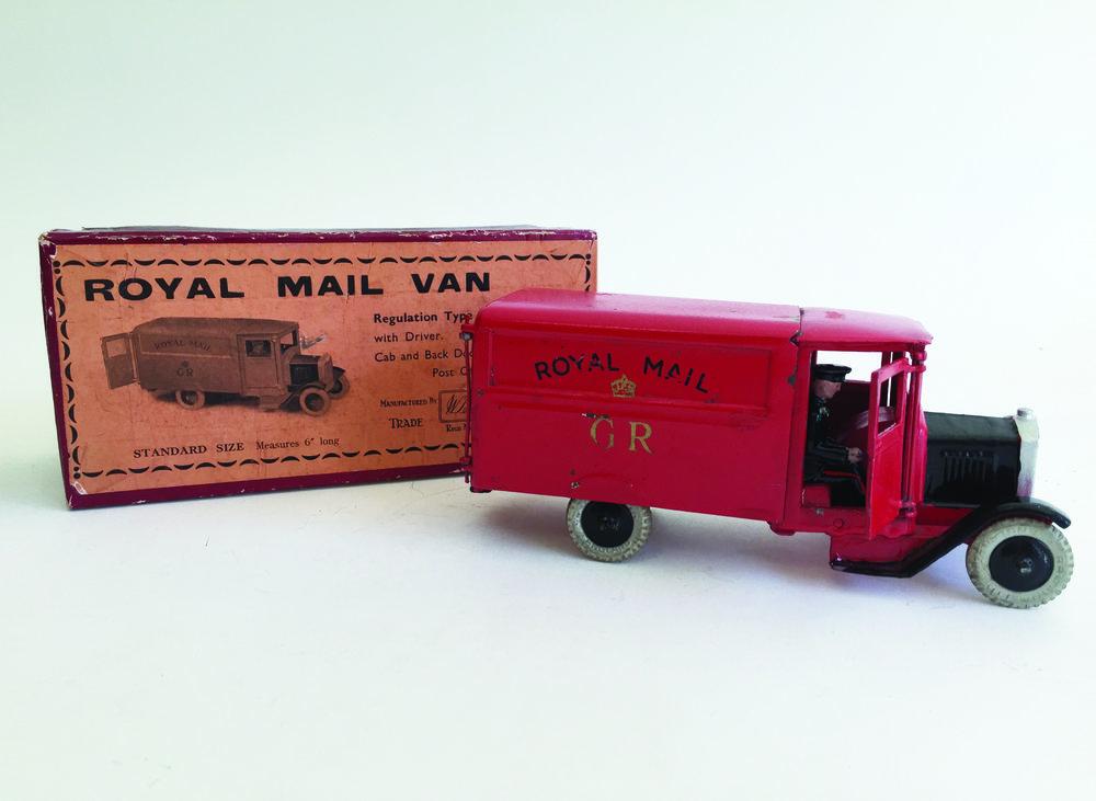 Royal Mail Van, W. Britain Set #1552, 1937