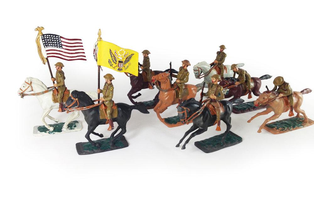 US Cavalry Display