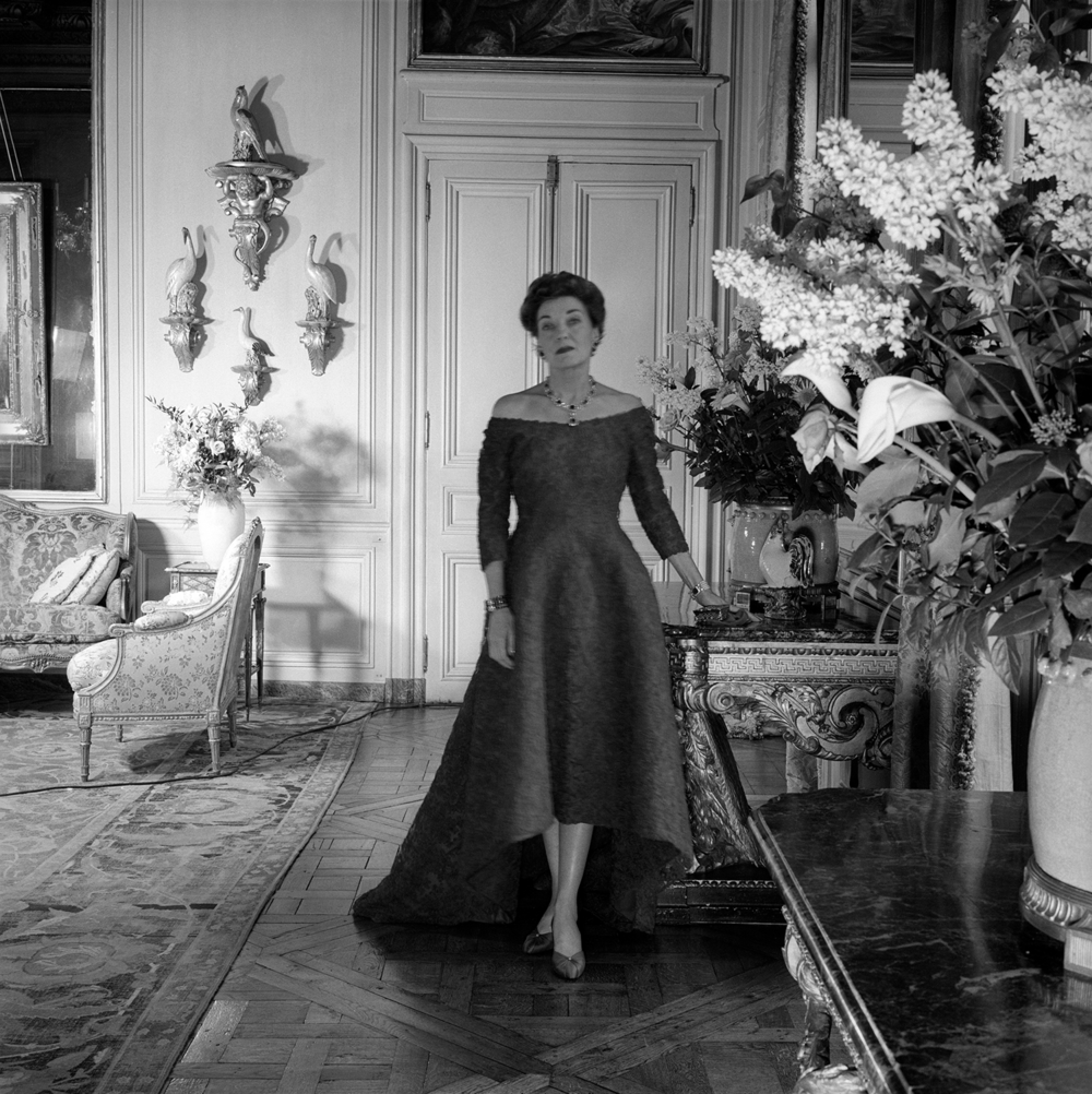 Mona wearing Balenciaga ©The Cecil Beaton Archive at Sotheby's