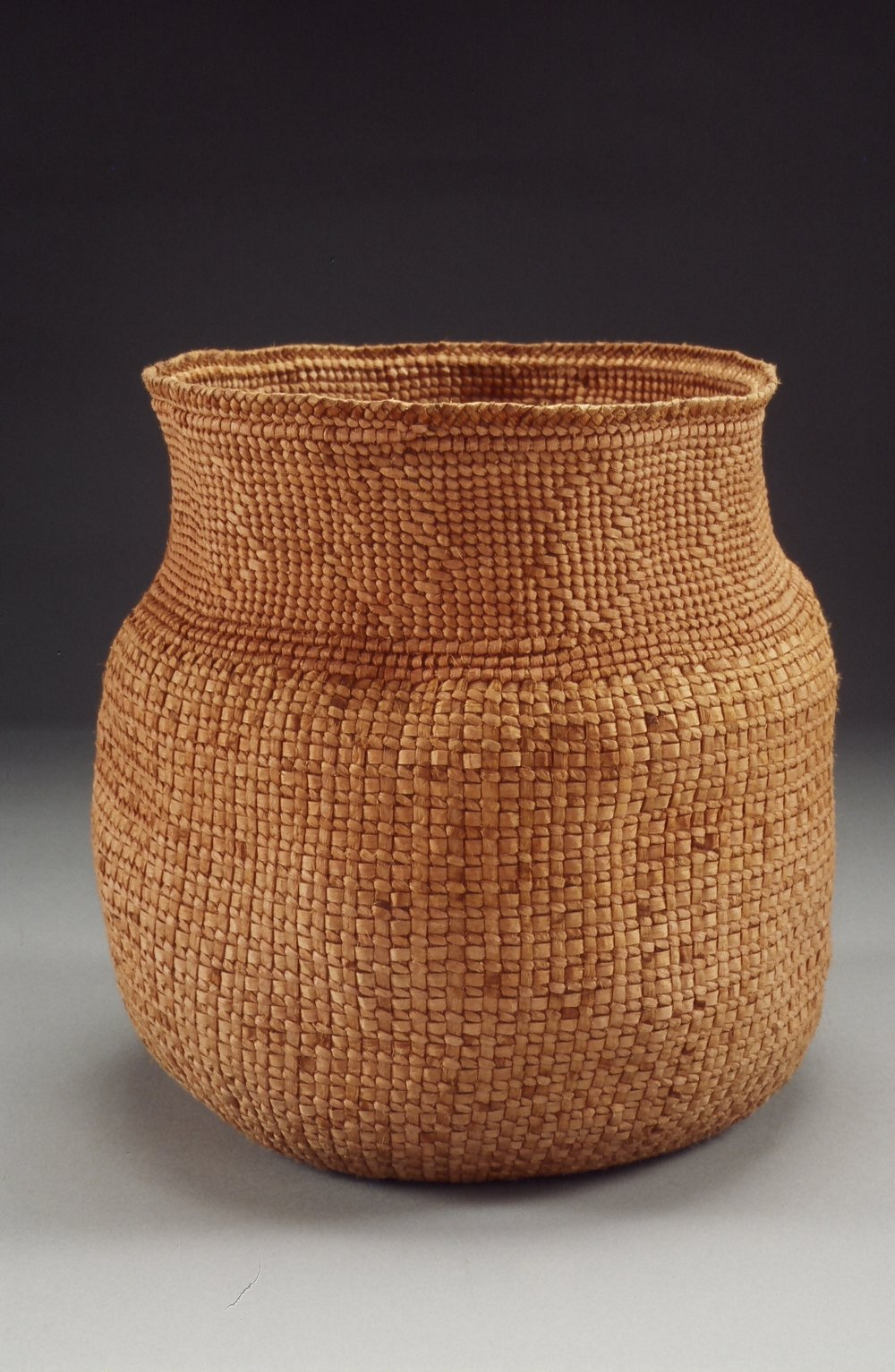 """Untitled #650"" by Jennifer Heller Zurick. 2006. Willow bark basket."
