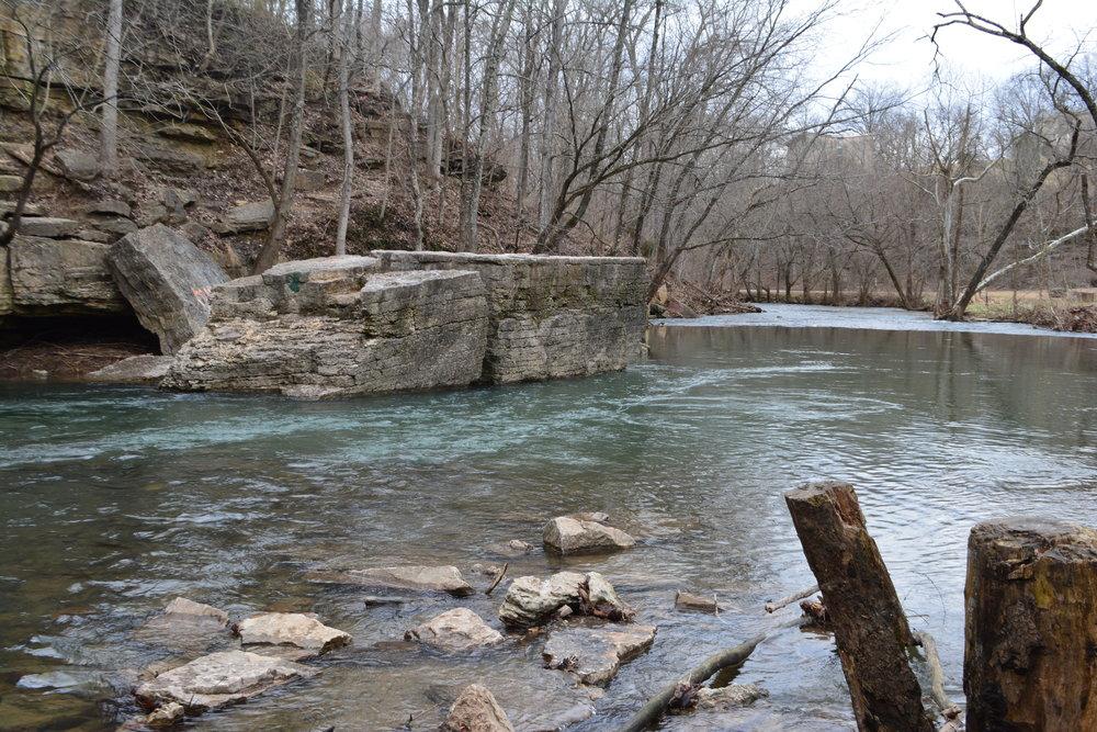 Big Rock, Cherokee Park