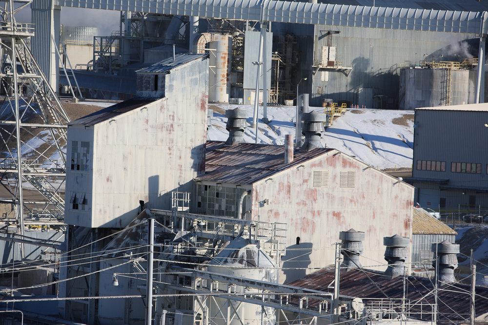Industrial Mine Facility