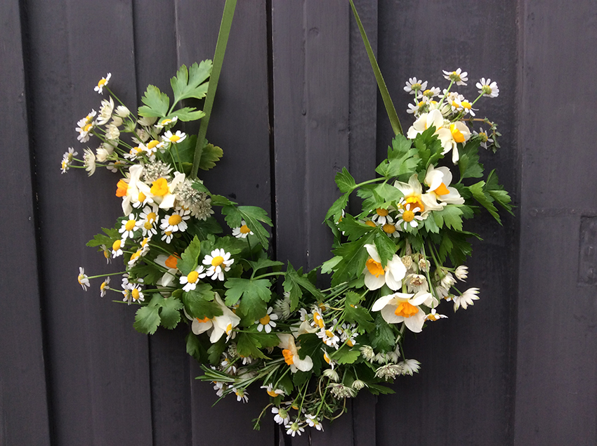 Easter Door Wreath