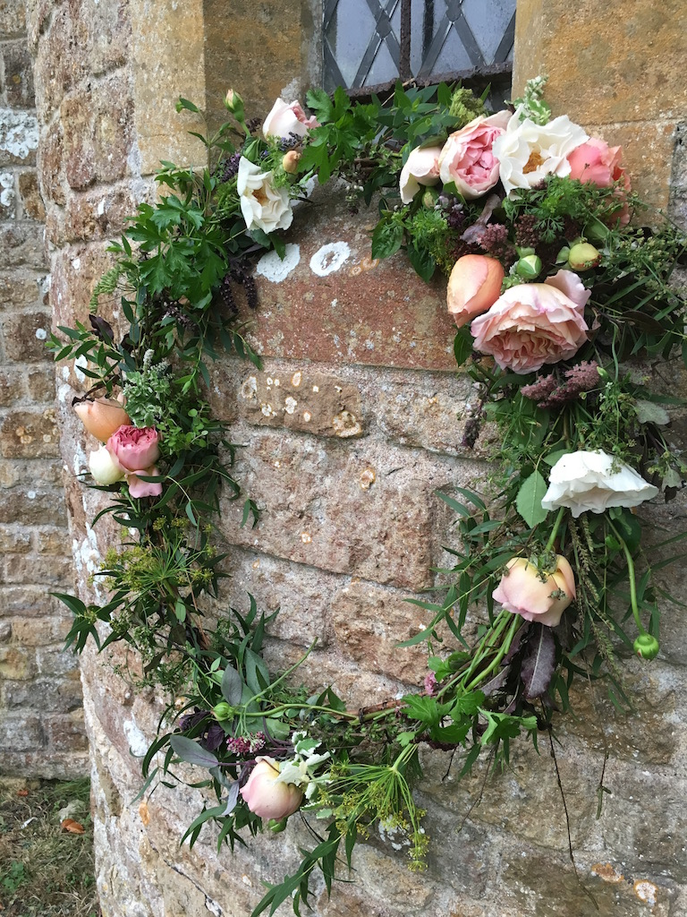 Rose and Herb Wreath