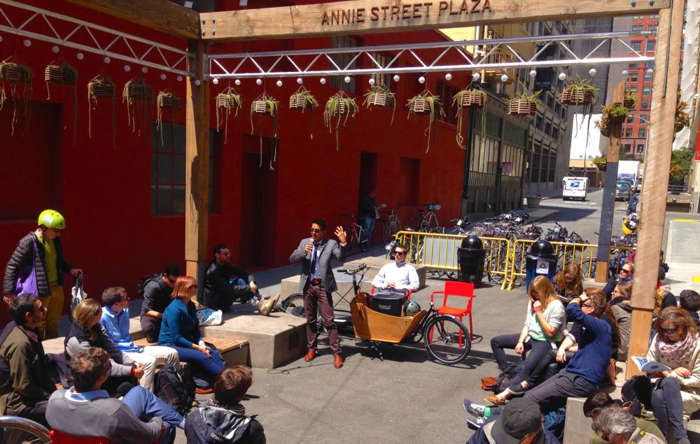 Annie Street Plaza