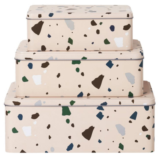 TRENDING: TERRAZZO HOMEWARE - The speckled composite material is taking the interiors world by storm and covering everything from wallpaper to pendant lights