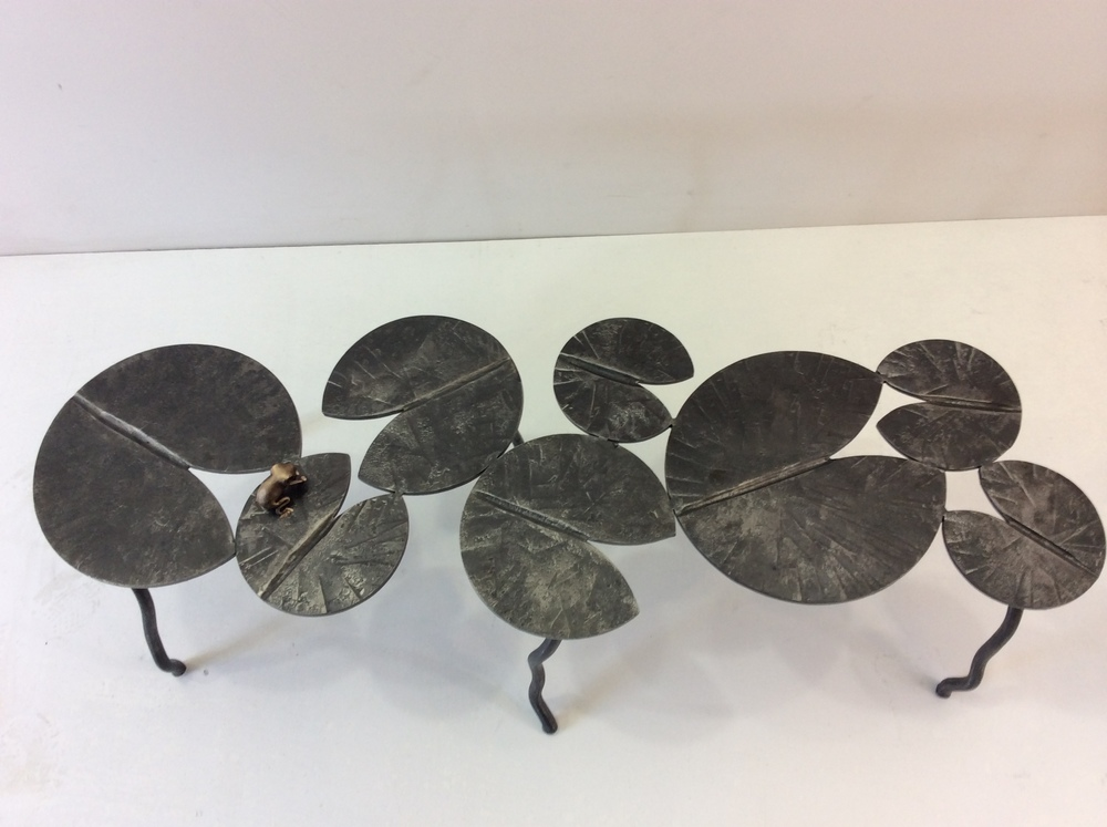 Bronze Lilypad coffee table
