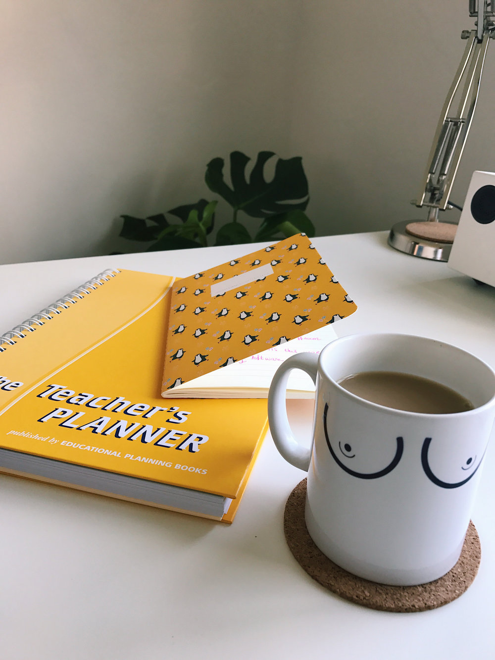 A happy yellow planner wasn't enough to stop what was about to come!