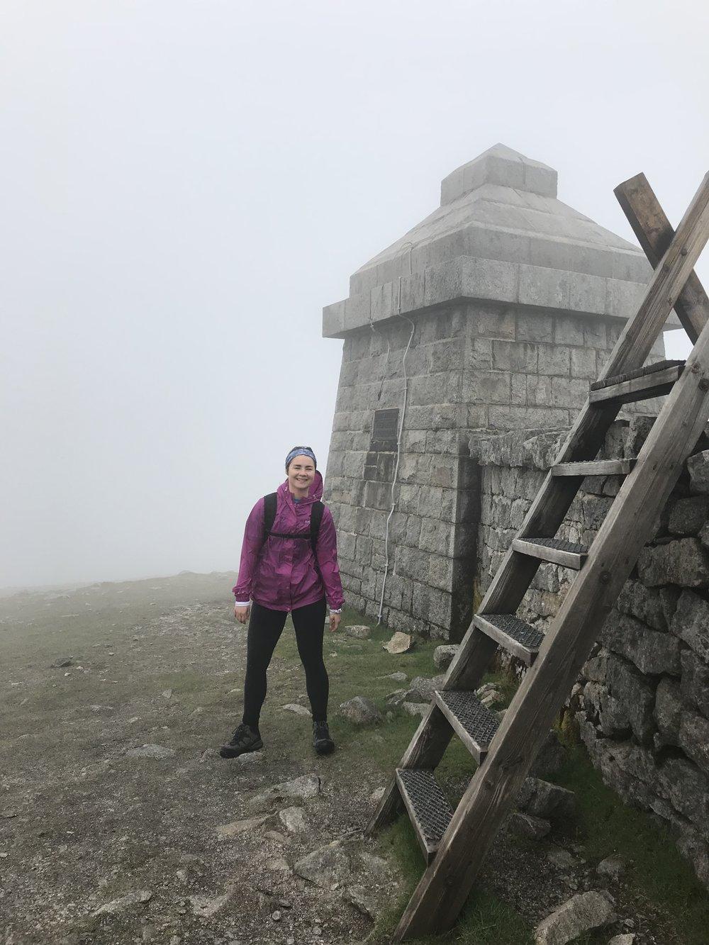 14.42pm - top of Meelmore (687m)