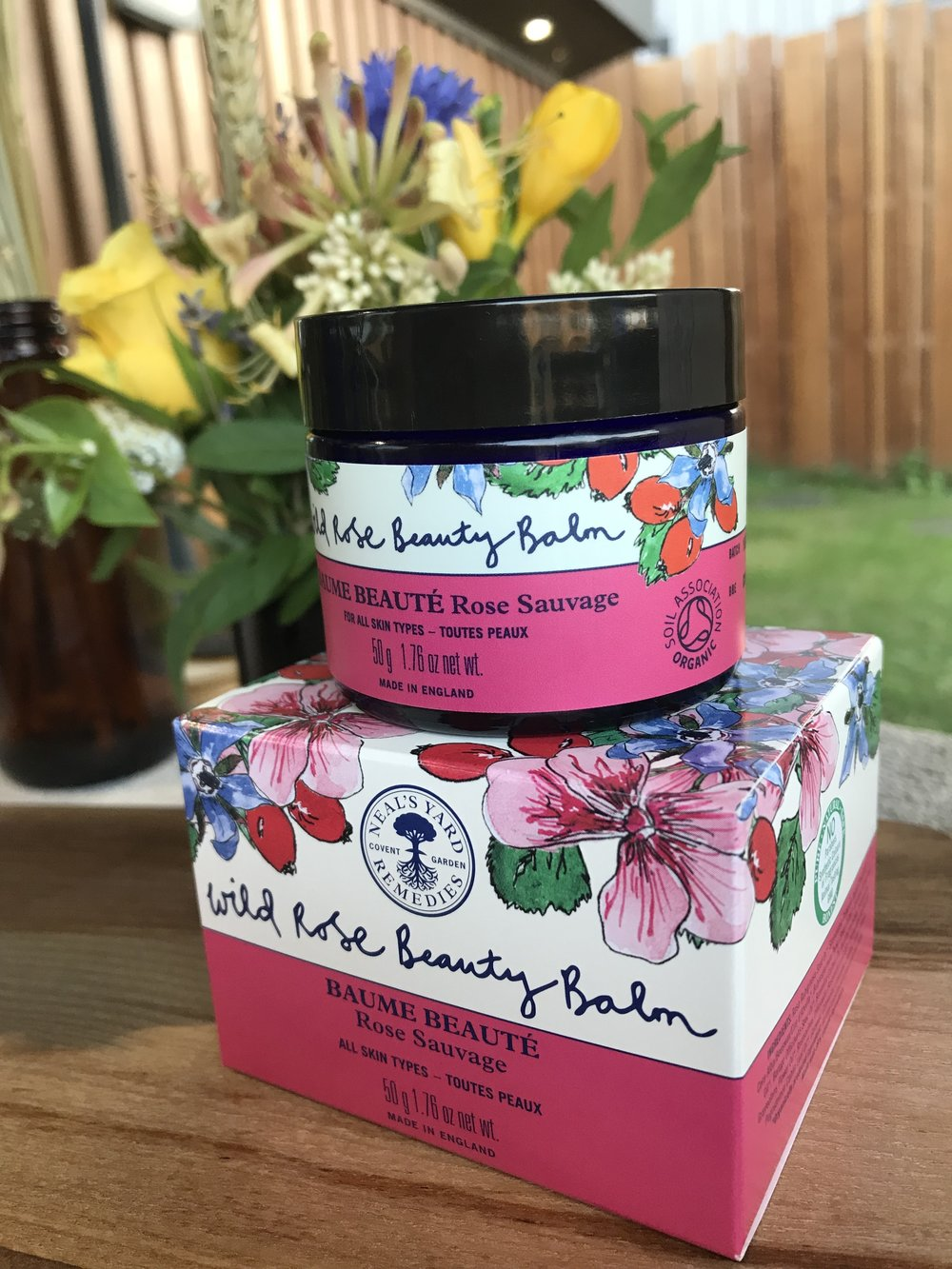 The award winning, multi-use wild rose beauty balm!