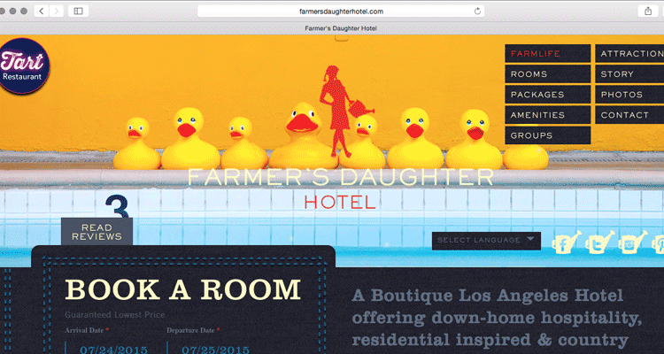 Places to stay like thehttp://farmersdaughterhotel.com or the Ace downtown