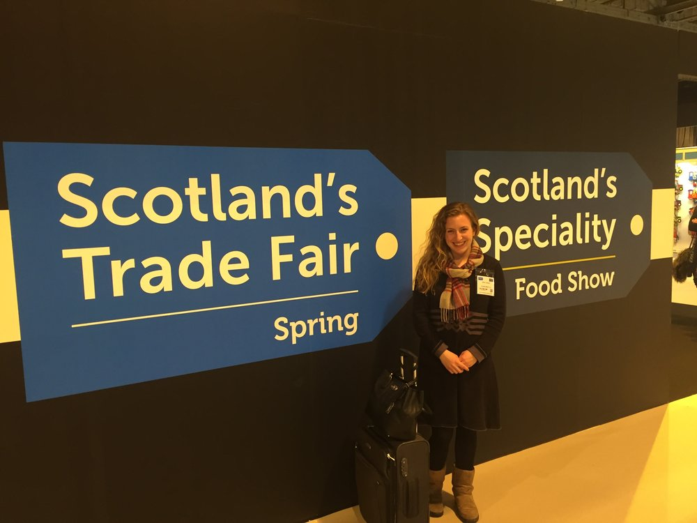 Click above for more images from the show and of traveling in Glasgow!