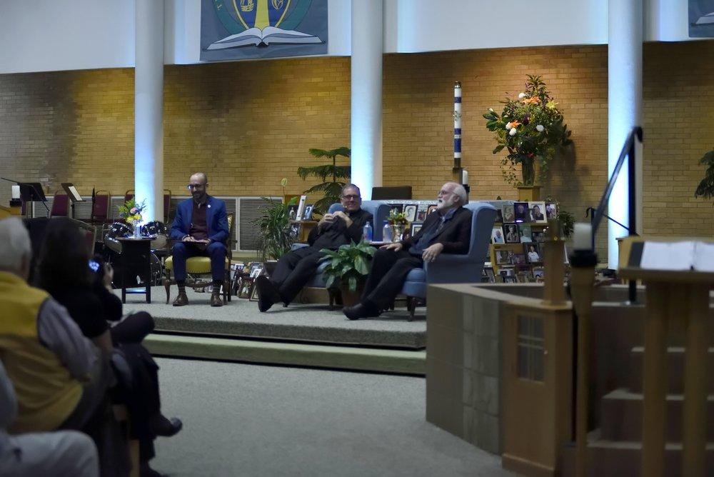 Fr. Jeff Putthoff, SJ and Fr. Greg Boyle, SJ