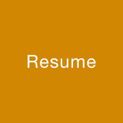 Resume — Taylor Art House