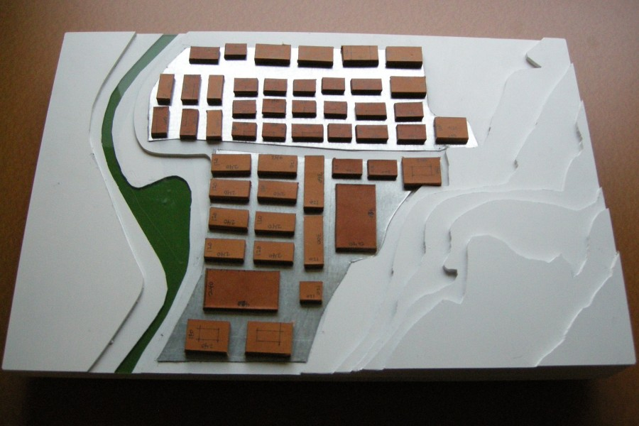 Green River site model