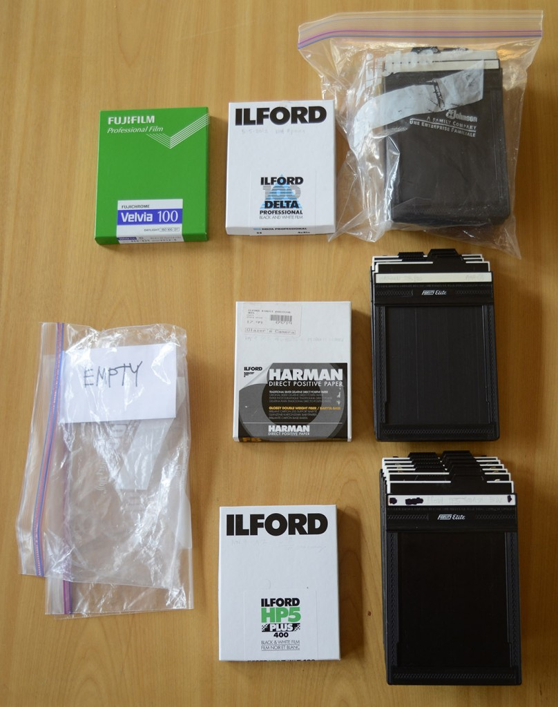 Film and Holders