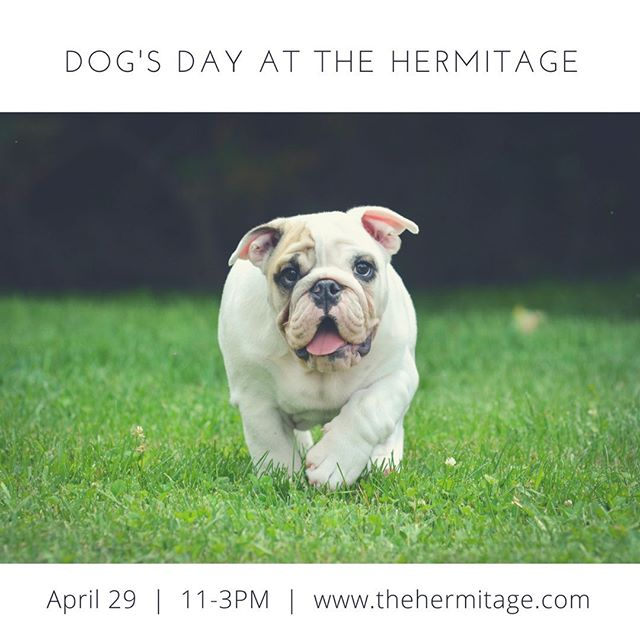 Enjoy the preserved woods and historic landscapes with your family, and then stop by the festival area for animal-friendly vendors, food trucks, music, a Kid's Korner, Bark Park play area, and an Adoption Event with local area animal shelters! Tickets are available at www.thehermitage.com