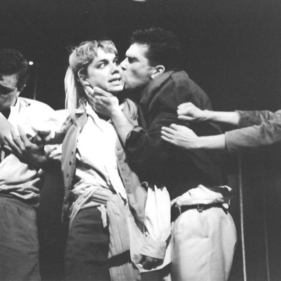 lysander IN A MISDUMMER NIGHT'S DREAM, OLDHAM, 1986 (WITH MERIEL SCHOFIELD)